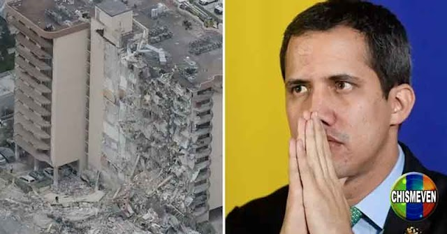 Guaidó ordena a su embajadora prestar toda la ayuda posible en edificio derrumbado en Miami