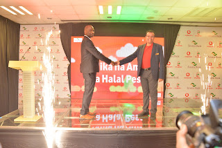 Vodacom join hands with Amana bank to launch an Islamic mobile saving product- Halal Pesa.