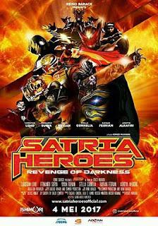 Download Film Satria Heroes Revenge of Darkness 2017