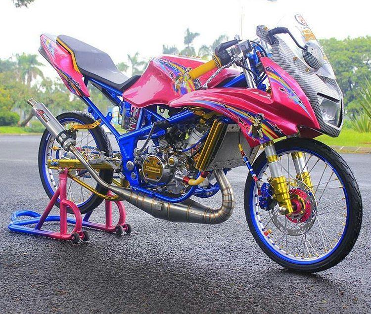 Gambar Modifikasi Kawasaki Ninja RR 150 Terbaru  Blog