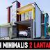 Model Rumah Minimalis 2 Lantai 8x12