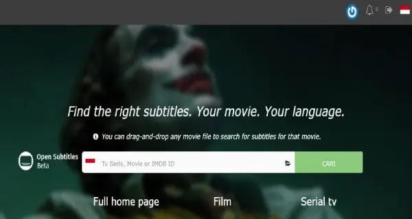 situs penyedia subtitle terlengkap