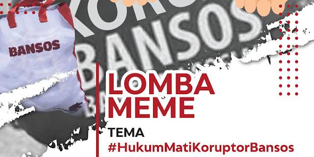 Dukung KPK, Gde Siriana Gelar Lomba Meme #HukumMatiKoruptorBansos