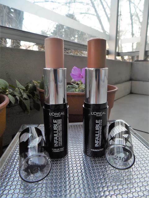 Infaillible 24 hs de L´Orea(base)l -Sala de Maquillaje