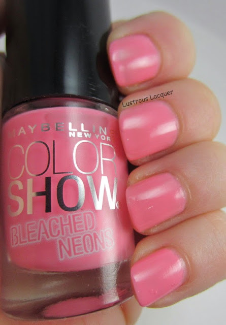 Maybelline Pink Punch Bleached Neons Collection Creme