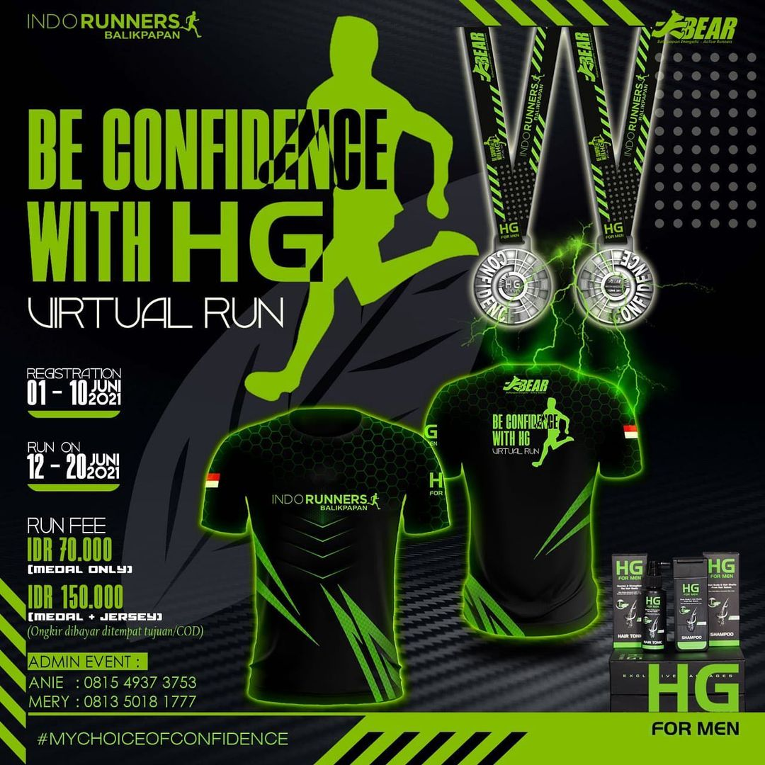 Be Confidence with HG - Virtual Run • 2021