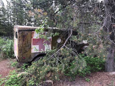 Old Ambulance at Hi Country RV Park