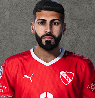 PES 2020 Faces Alexander Barboza by Lucas Facemaker