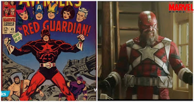 About Origin of Red Guardian in Marvel Black Widow Movie