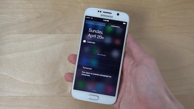 أحصل على شريط إشعارات الإحترافي الموجود في iPhone 7 بدون روت