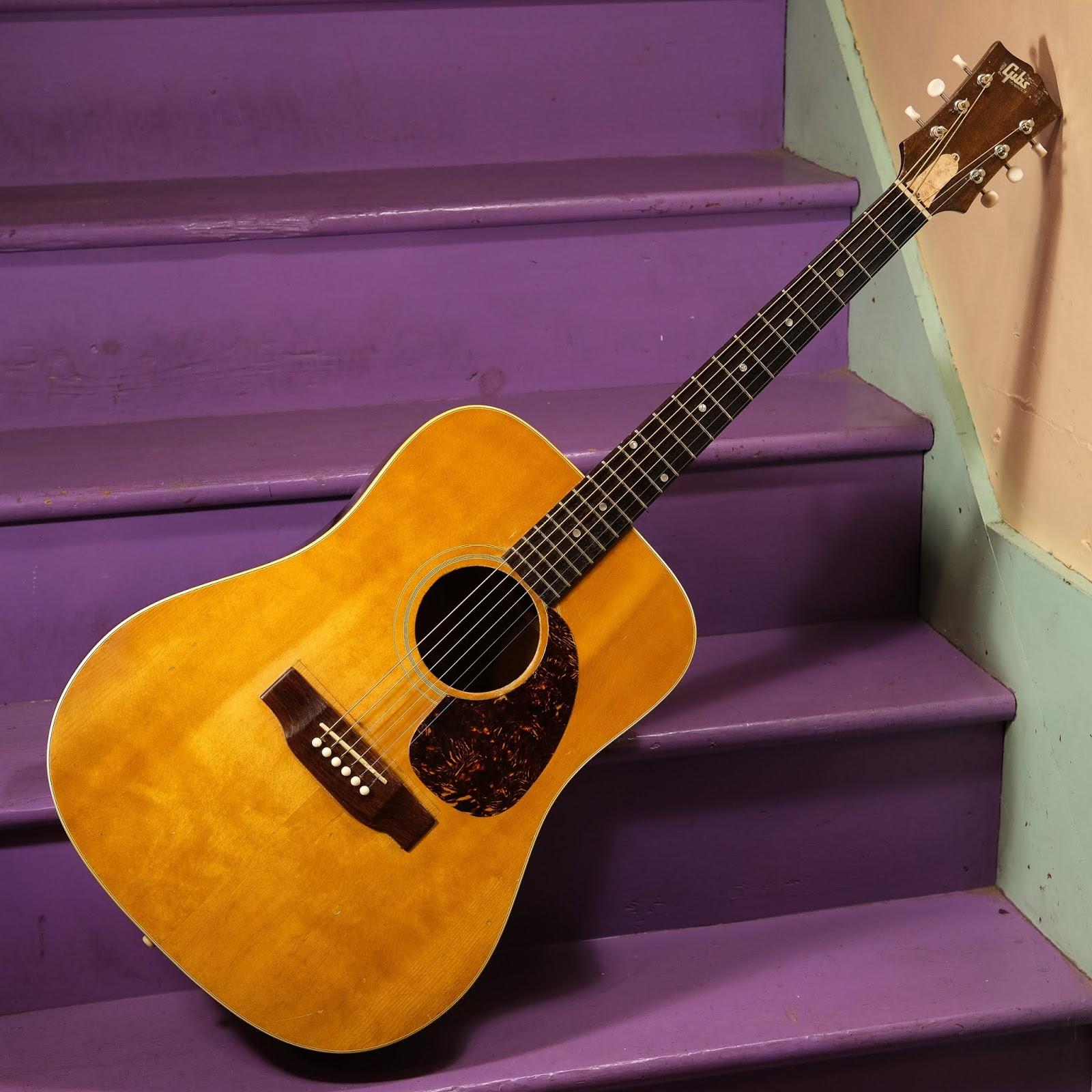back in the shack 1970 gibson j 50 dreadnought guitar. Black Bedroom Furniture Sets. Home Design Ideas