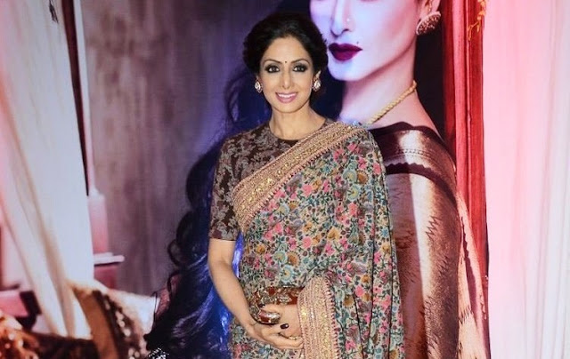 yves saint laurent wallets - Bollywood Actress Saree Collections: Sridevi Kapoor in Sabyasachi ...