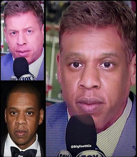 Troy Aikman Looks Like Jay Z Meme