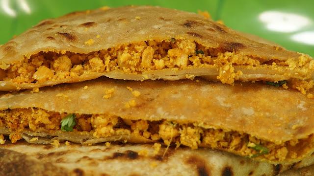 Chicken-Keema-Paratha