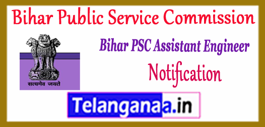 BPSC AE Bihar Public Service Commission Recruitment Notification 2017 Application