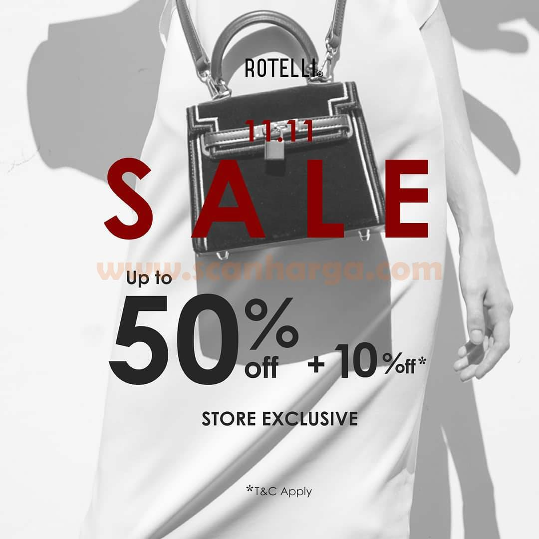 Rotelli Promo 11.11 Sale Discount up to 50% Off + 10% Off!