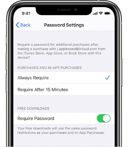 Make time your phone password