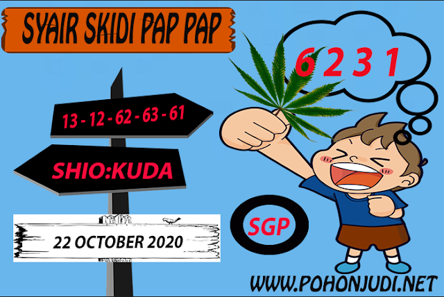 Kode syair Singapore Kamis 22 Oktober 2020 168