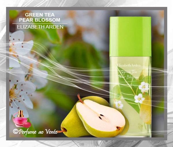 perfume ao vento, perfume, parfum, elizabeth arden, green tea, green tea pear blossom, collection green tea