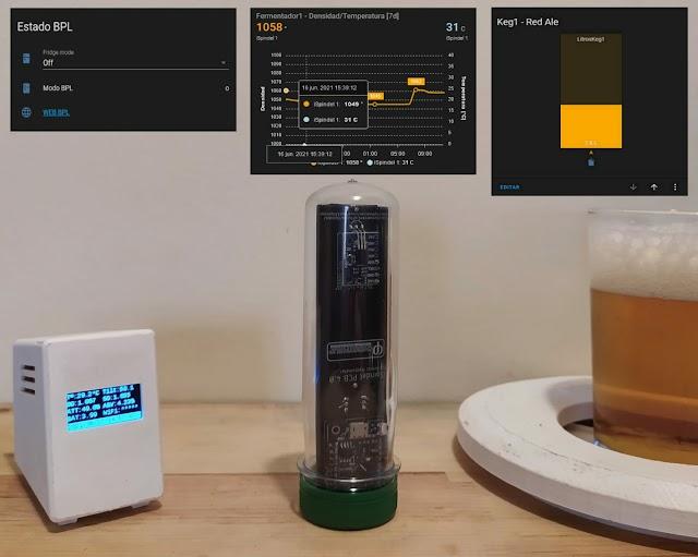 Dispositivos homebrewer MQTT para Home Assistant
