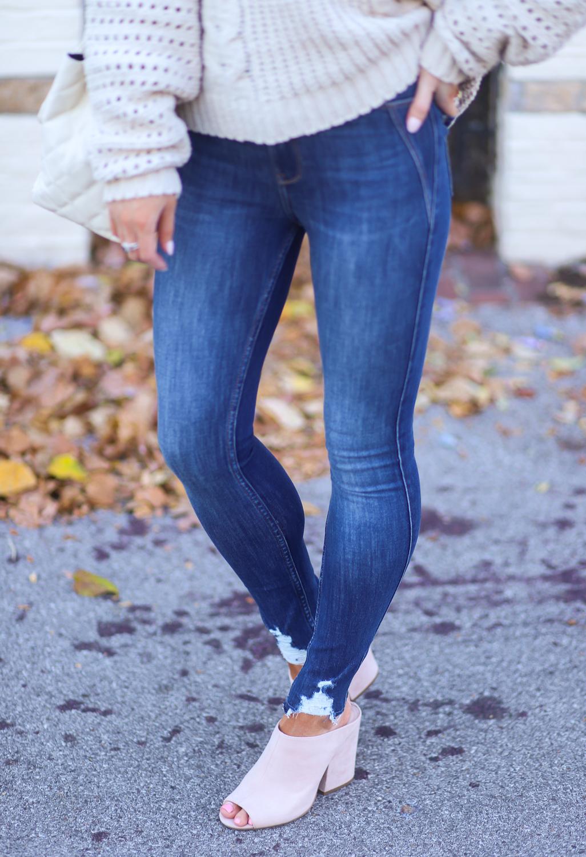 hollister extreme stretch high-rise jean leggings