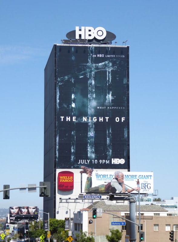 Giant The Night Of series premiere billboard