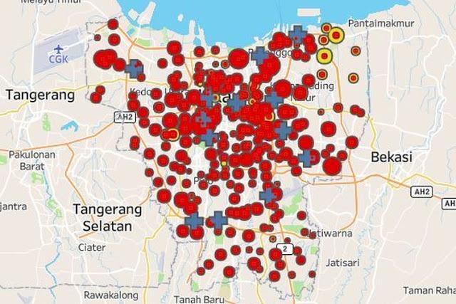 Dari 5.617 Orang positif Terpapar Corona di Jakarta, 1279 Telah Dinyatakan Sembuh