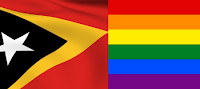 Gay East Timor Pride Flag Law Justice Bulletin gay homosexuality