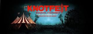 Festival KNOTFEST Bogotá 2 | Slipknot + ACCEPT + W.A.S.P y más