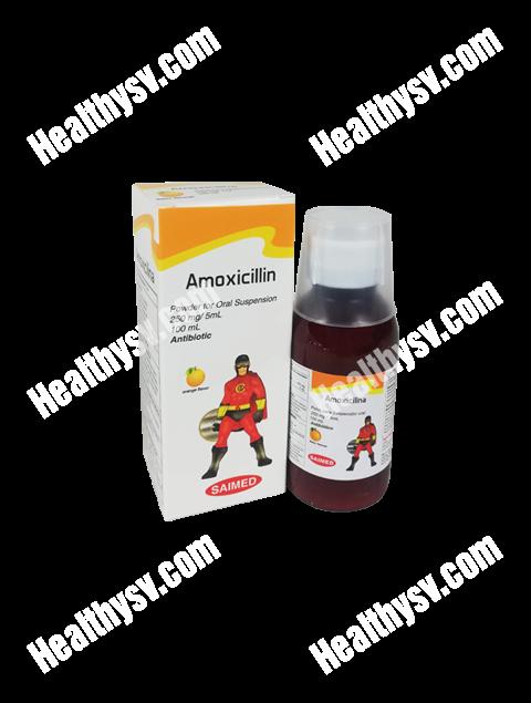Amoxicillin Suspension 100mL