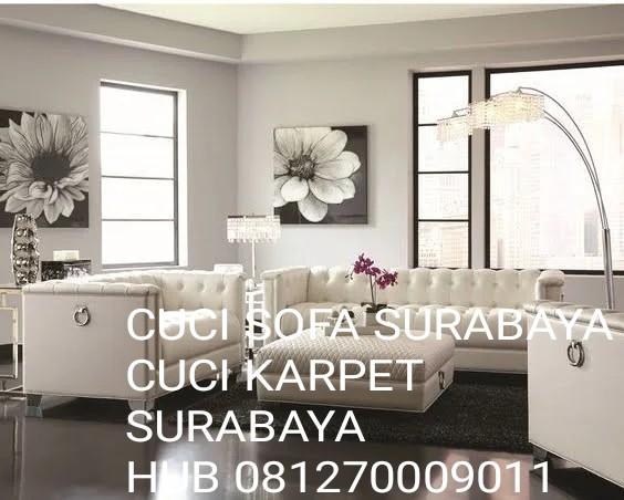 Jasa Cuci Sofa Surabaya 081270009011