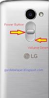 Hard Reset LG ZONE X180G