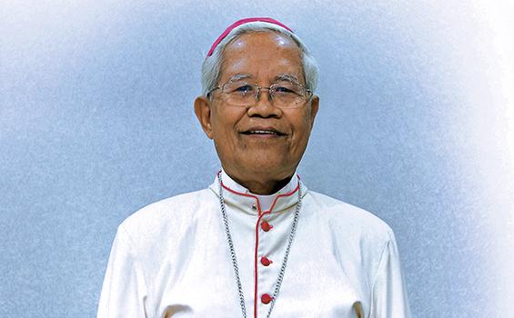 Kabar Duka dari KA Sibolga: Uskup Anicetus Sinaga Meninggal Dunia