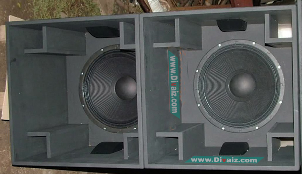 Box Speaker 18 : Tutorial Membuat Box Speaker PLANAR 18inch-15inch