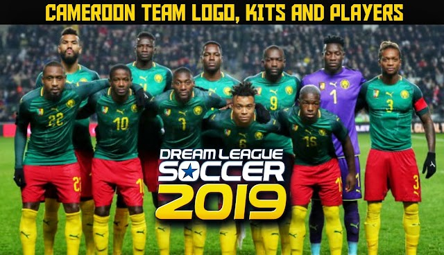 Cameroon Team Logo, Kits & Players in Dream League Soccer.
