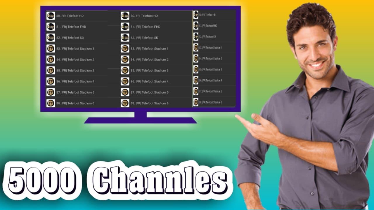 فلتشاهد اكثر من 5000 قناة تلفزيونية مجانا-مولد سيرفرات iptv
