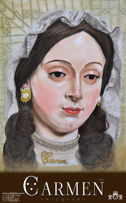 Cartel de Nuestra Señora del Carmen de Antequera 20221