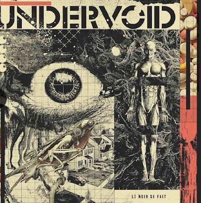 """Avec """"Le Noir Se Fait"""", Undervoid donne ses lettres de noblesses à la notion de rock français engagé."""