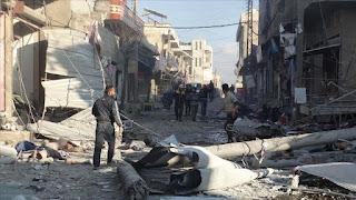 إرتفاع قتلى غارات النظام وروسيا على إدلب إلى 19 مدنيا..