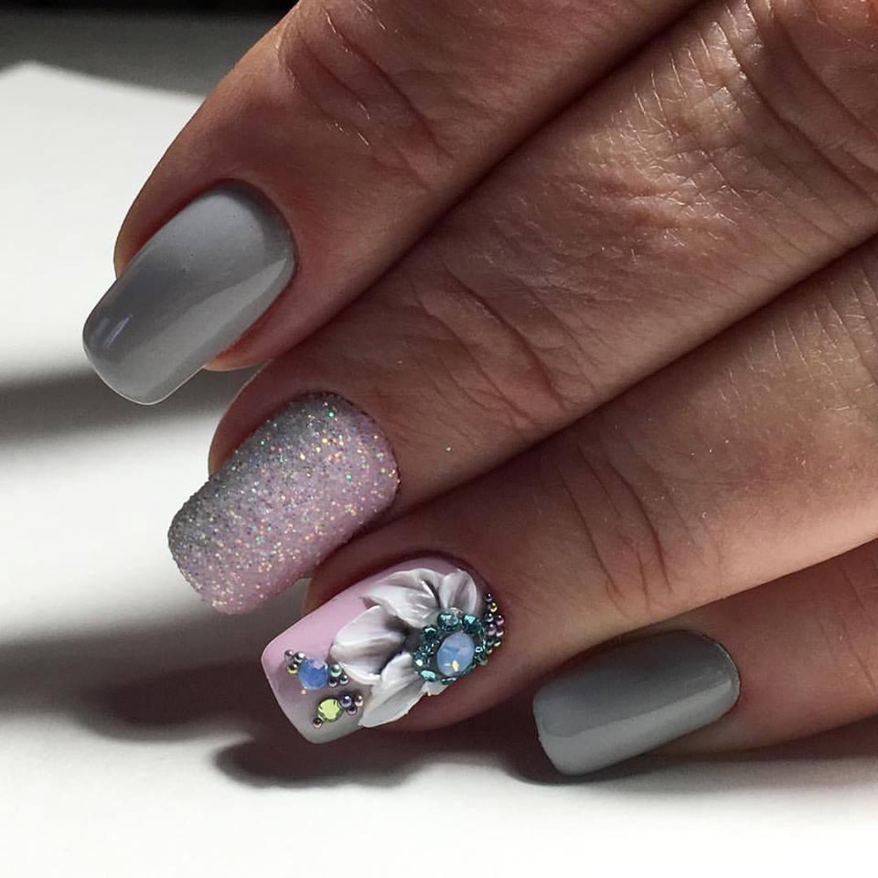 Floral Nail Art Designs Epic Spring Break | trends4everyone