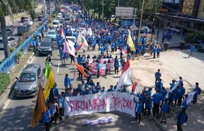 Turunkan Jokowi, Aksi Aktivis dan Mahasiswa Pekan Depan Mulai Ramai Dibicarakan