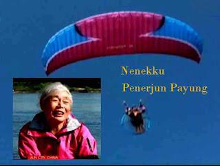 Nenekku Penerjun Payung