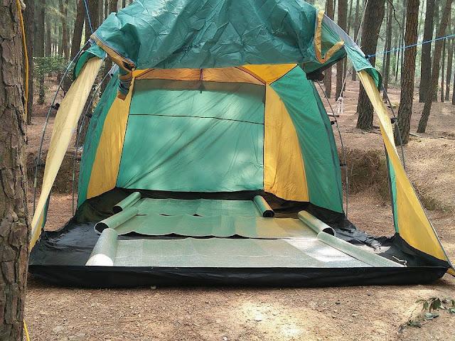 Thuê lều cắm trại cho 12-14 người