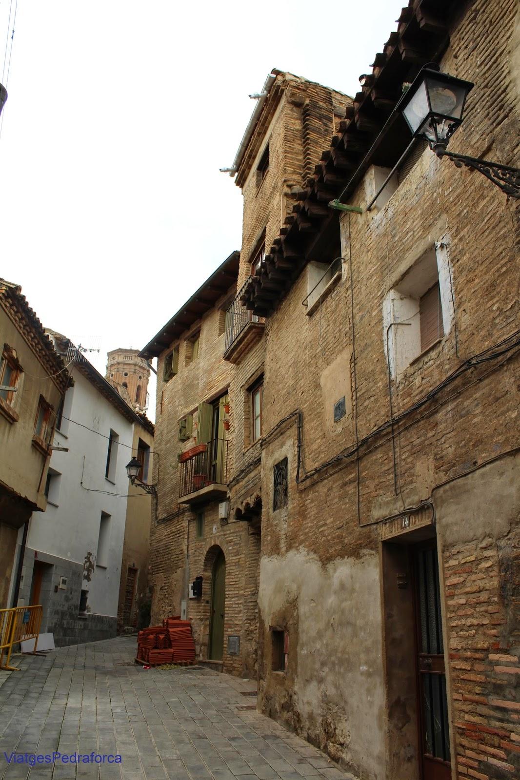 Tudela nucleo antiguo medieval Navarra