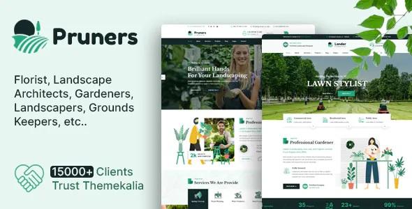 Best Garden Landscaper HTML Template