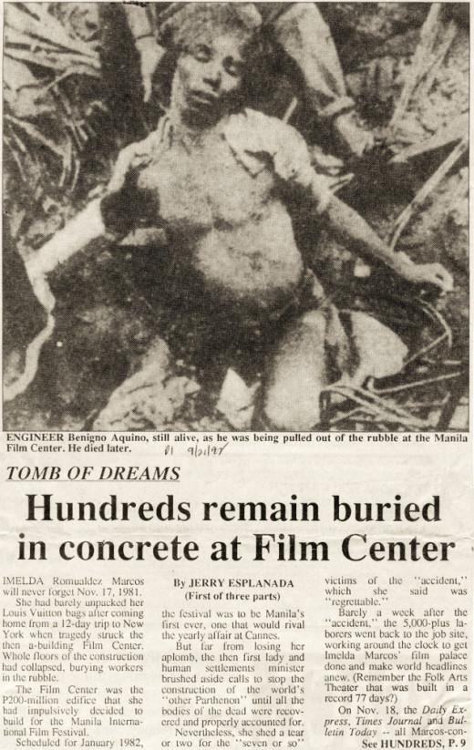 Manila Film Center Tragedy