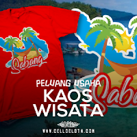 Usaha Kaos Wisata Oleh-oleh Wajib Daerah Destinasi Wisata