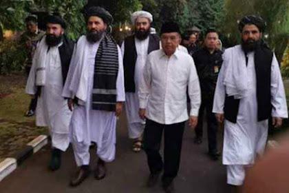 Pimpinan Taliban Datang ke Indonesia, Diterima JK