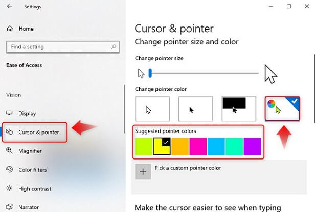 windows-10-mouse-pointer-color-change