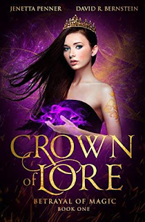 Crown of Lore - a heart-pounding fantasy book promotion Jenetta Penner